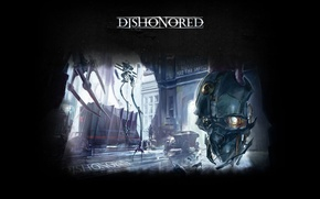 Picture mask, Dishonored, Bethesda, the view from the back