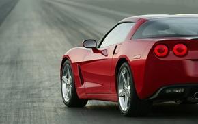 Wallpaper road, Corvette, Chevrolet