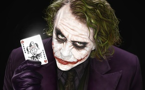 Wallpaper JOKER, Joker, Batman