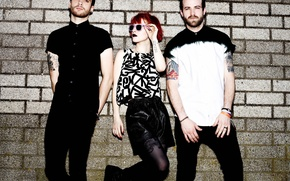 Picture look, style, group, glasses, photographer, rock, Hayley Williams, Paramore, 2013, Hayley Williams, Taylor York, Nigel …