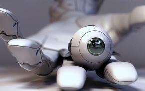 Picture cyberpunk, eye, deus ex, sarif
