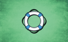 Wallpaper sea, background, round, blue, tone