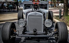 Picture eyes, retro, Hot Rod, Studebaker, Studebaker Hot Rod
