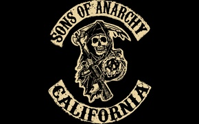 Picture logo, the series, CA, Sons of anarchy, children of anarchy, sons of anarchy