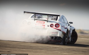 Wallpaper smoke, drift, Nissan, speedhunters, NISMO-GT, The World's Fastest Drift Car