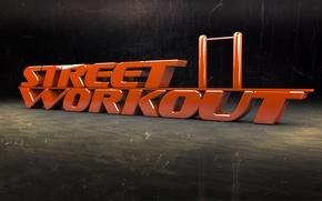 Picture sport, street workout, the horizontal bar, tournamen, yard sport, street workout
