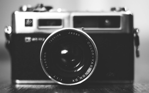 Picture camera, lens, Yashica