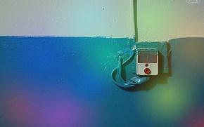 Wallpaper color, call, rainbow, signal, wall