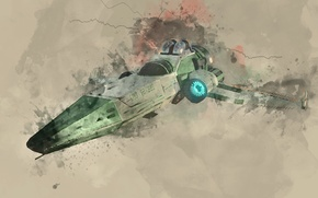 Picture colors, planet, paint, ship, starship, nms, no mans sky
