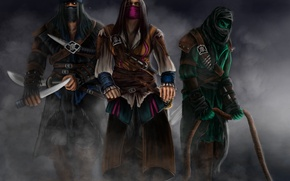 Picture Rain, Sub-Zero, Reptile, Assassins, Kombat, Mortal