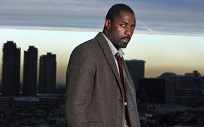 Picture the sky, home, tie, the series, shirt, skyscrapers, coat, serial, john, John, luther, idris elba, …