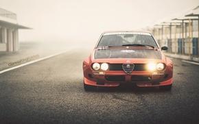 "Picture Alfa Romeo, vintage, retro, oldschool, 2000GT, 1974, By Giannis ""KING"" Kokkas, Alfetta, italian racecar"