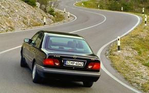 Picture Mercedes-Benz, Mercedes, E-class, CDI, E-Class, 1995, E-class, W210, Executivklasse, Lupato, Eyed, E200