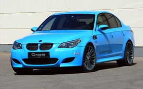 Picture bmw, blue, power, hurricane