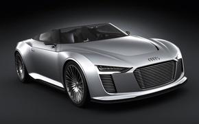 Picture auto, Audi, e-tron, spyder