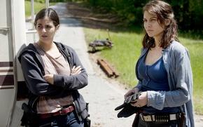 Picture Maggie, The Walking Dead, The walking dead, Tara, Lauren Cohan, Alanna Masterson