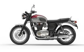 Picture motorcycle, triumph, bonneville 2016