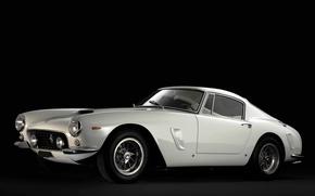 Picture Berlinetta, SWB, 1962, Ferrari, 250, Retro, White, Ferrari, Car