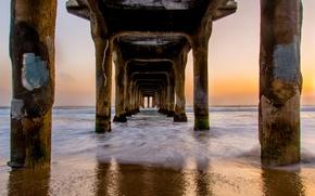Picture CA, pierce, Beach, Manhattan, Pier