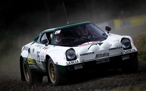 Picture rally, stratos, lancia