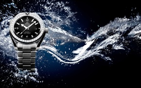 Picture water, watch, Seamaster, Professional, OMEGA