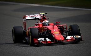 Picture Ferrari, Ferrari, Formula 1, Kimi Raikkonen Also, SF15T