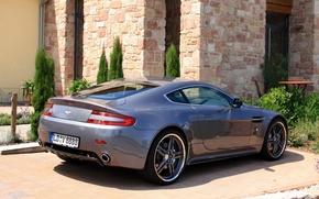Picture Aston Martin, Aston Martin, back, Cargraphic, cargraphic, auto, tuning, Vantage