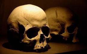 Wallpaper death, skull