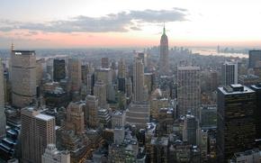 Picture Wallpaper, new York, skyscrapers, new york, Manhattan, manhattan