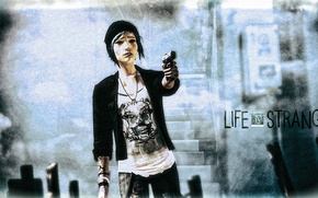 Picture weapons, the game, fan art, Life is strange, Chloe Price, Chloe Price