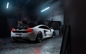 Picture McLaren, MP4-12C, Tuning, Supercars, Wheels, Rear, ADV.1, Ligth, ADV6 TS