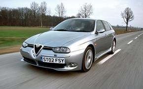 Picture Alfa Romeo, Alfa, Sportwagon, Alfa 156, Alfa Silver, Alfa Romeo 156 Sportwagon