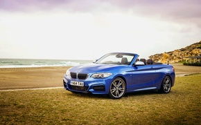 Picture BMW, BMW, convertible, Cabrio, UK-spec, 2015, M235i, F23