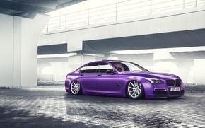 Picture BMW, German, Car, Purple, Color, 7 Series, Vossen, Low, Wheels