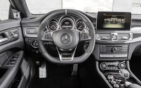 Picture Mercedes-Benz, Salon, Carbon, AMG, CLS-Class