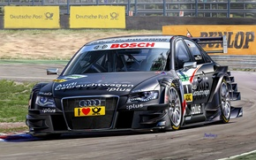 Picture figure, team, race, pilot, 2009, DTM, Michal Reinis, German Touring Car Masters, racing car, Abt …