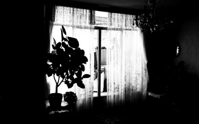 Picture dark, night, home