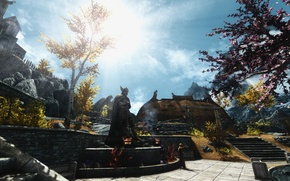 Picture Skyrim, The Elder Scrolls, Whiterun, Talos