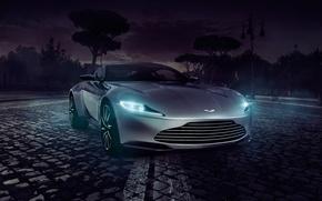 Picture Concept, Aston Martin, Light, Front, Supercar, Spectre, DB10