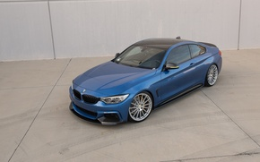 Picture BMW, Blue, F32, 435i