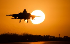 Picture weapons, the plane, f15e