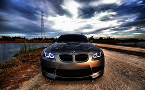 Picture the sky, nature, BMW
