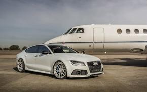 Picture Audi, White, Series, RS7, M.V2, ADV7