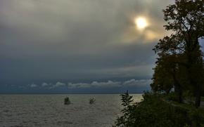 Picture Sunset, Nature, Sea, Nature, Sky, Sunset, Sea, Cloudy Sky