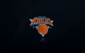 Picture Black, Basketball, Background, Logo, New York, New York, NBA, New York Knicks, Mikey