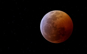 Picture Moon, black, eclipse