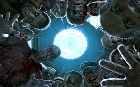 Picture fear, zombies, Horror, dead rising