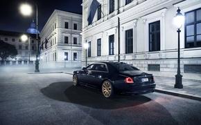 Picture Rolls-Royce, Ghost, rolls-Royce, 2015, Spofec Black One