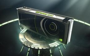 Wallpaper Nvidia, GeForce, 680 card