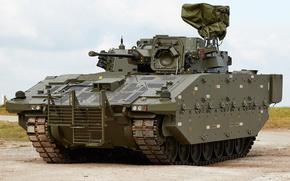 Wallpaper UK, war machine, Armored, AJAX NUMBER
